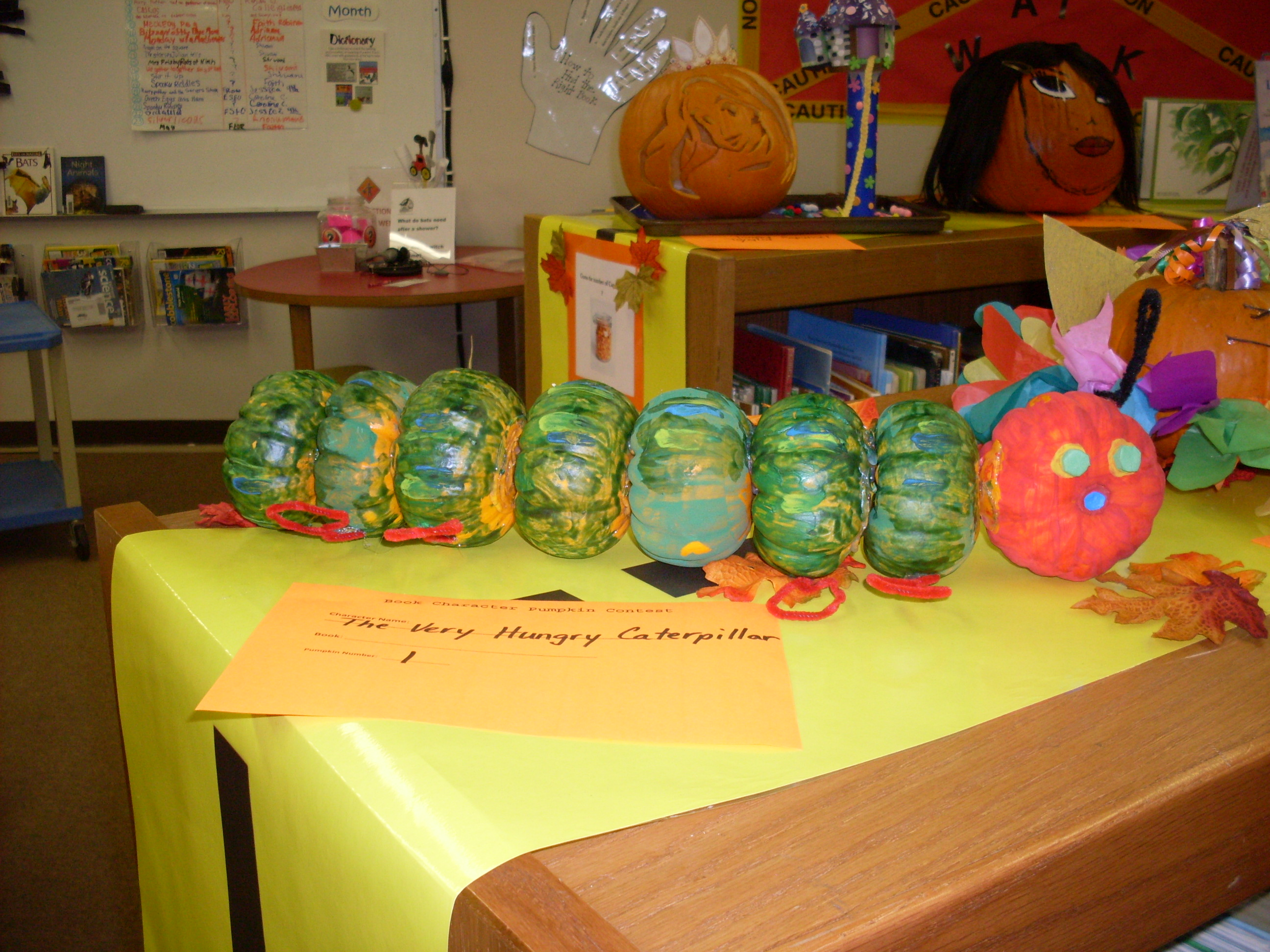Book Character Pumpkin Decorating Contest We Know How To Do It